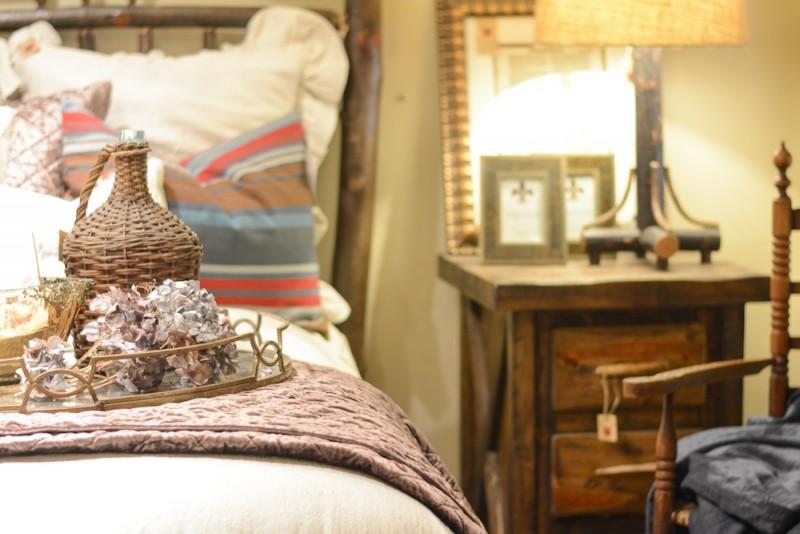 Belgian linen room